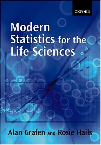 Modern Statistics for the Life Sciences 9780199252312