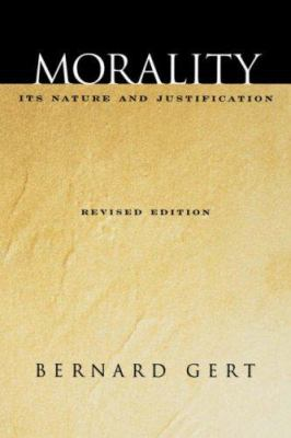 Morality: Its Nature and Justification 9780195176902