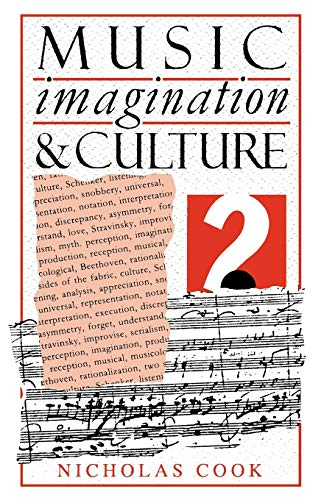 Music, Imagination, and Culture 9780198163039
