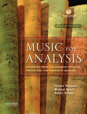 Music for Analysis: Examples from the Common Practice Period and the Twentieth Century [With CD (Audio)] 9780195379839
