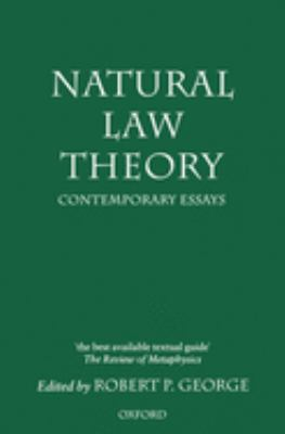 Natural Law Theory: Contemporary Essays 9780198235521