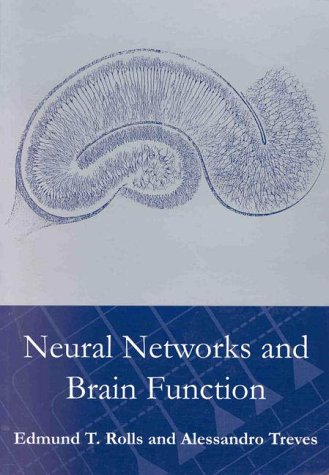 Neural Networks and Brain Function 9780198524328