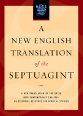 New English Translation of the Septuagint-OE 9780195289756