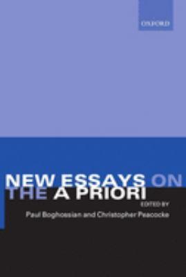 Essay new priori