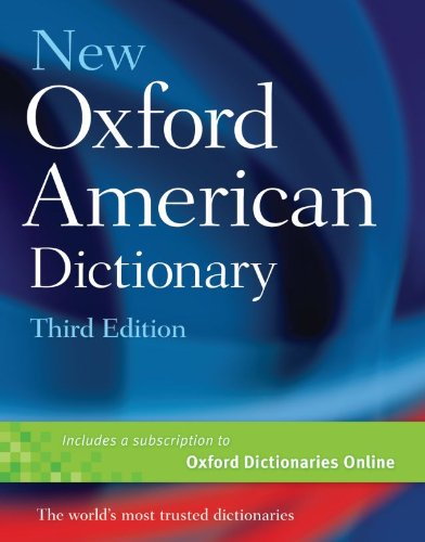 New Oxford American Dictionary 9780195392883
