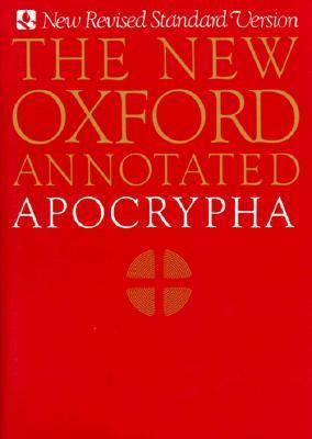 New Oxford Annotated Apocrypha 9780195283686