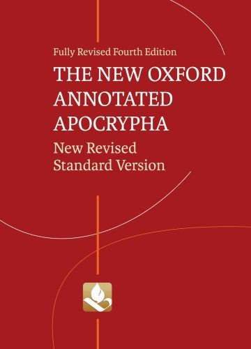New Oxford Annotated Apocrypha-NRSV 9780195289619