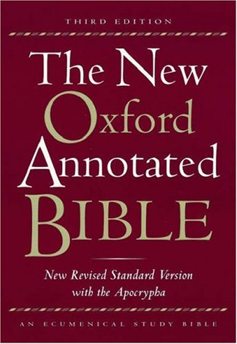 New Oxford Annotated Bible-NRSV 9780195284782