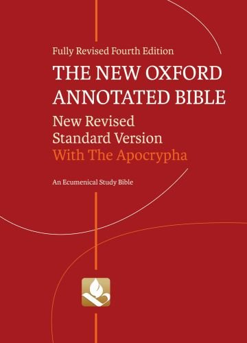 New Oxford Annotated Bible-NRSV 9780195289558