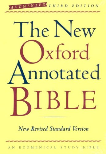 New Oxford Annotated Bible-NRSV-Augmented 9780195288759