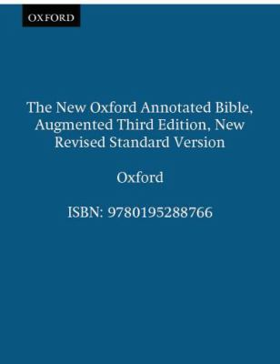 New Oxford Annotated Bible-NRSV-Augmented 9780195288766