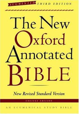 New Oxford Annotated Bible-NRSV-Augmented College 9780195288773