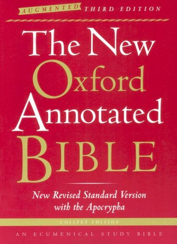 New Oxford Annotated Bible-NRSV-Augmented College 9780195288834