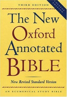 New Oxford Annotated Bible-NRSV-College 9780195284836