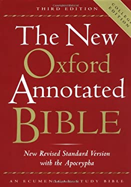 New Oxford Annotated Bible-NRSV-College 9780195284850