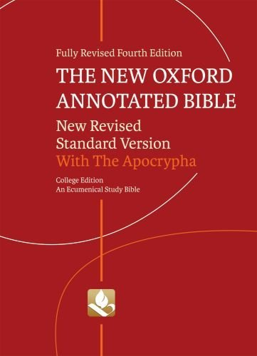 New Oxford Annotated Bible-NRSV-College - 4th Edition