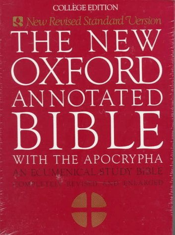 New Oxford Annotated Bible 9780195284119