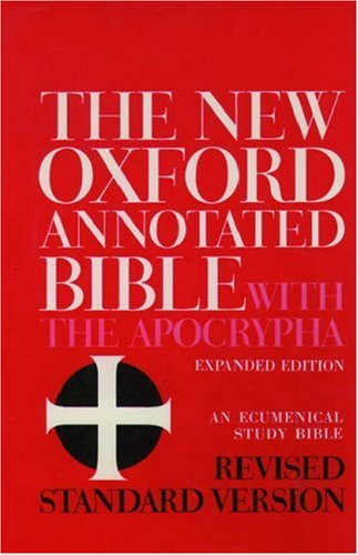 New Oxford Annotated Bible-RSV 9780195283488