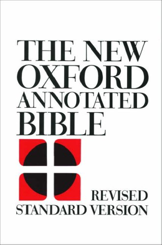 New Oxford Annotated Bible-RSV 9780195283242