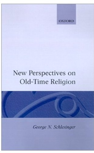 New Perspectives on Old-Time Religion 9780198249863