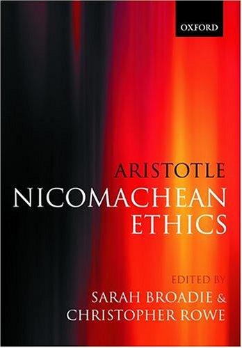 Nicomachean Ethics 9780198752714