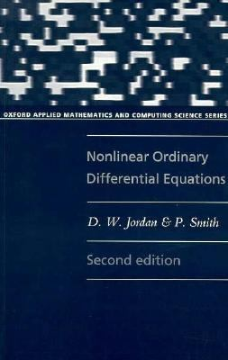 Nonlinear Ordinary Differential Equations 9780198596561