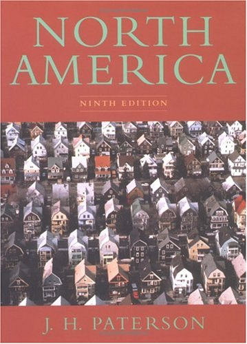 North America: A Geography of the United States and Canada 9780195080582