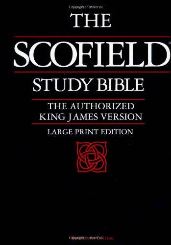 Old Scofield Study Bible-KJV-Large Print 9780195272512