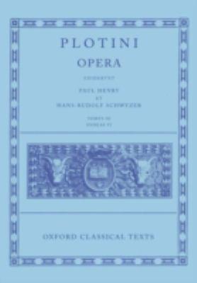 Opera, Tomvs III: Enneas VI 9780198145912