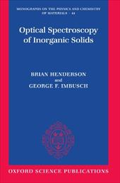 Optical Spectroscopy of Inorganic Solids 582509