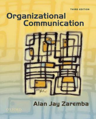 Organizational Communication 9780195379044