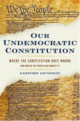 the constitution complaints and the role of levinson Sanford levinson's book, our undemocratic constitution, raises dif-  as a series  of complaints about the constitution, not as a fundamental  we suddenly cast  into the role of a reform-minded delegate at a consti.