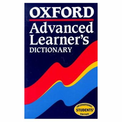 Oxford Advanced Learner's Dictionary 9780194314237