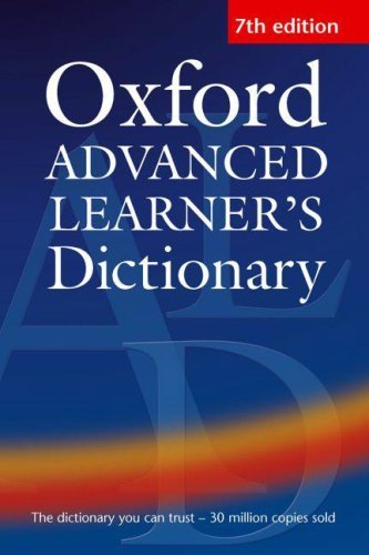 Oxford Advanced Learner's Dictionary of Current English 9780194001021