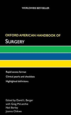 Oxford American Handbook of Surgery 9780195304626