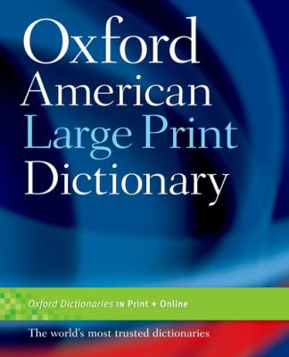 Oxford American Large Print Dictionary 9780195371253