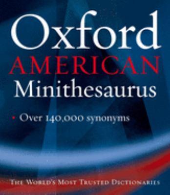 Oxford American Minithesaurus 9780195175202
