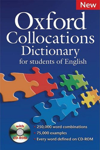 Oxford Collocations Dictionary: For Students of English [With CDROM] 9780194325387