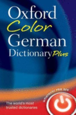 Oxford Color German Dictionary Plus
