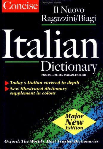 Oxford Concise Italian Dictionary: Dizionario Inglese Italiano, Italian English Dictionary 9780198602439