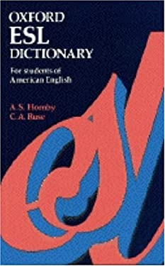 Oxford ESL Dictionary for Students of American English 9780194314039