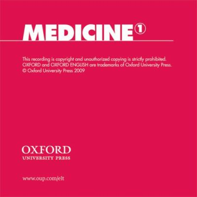 Oxford English for Careers: Medicine 1: Class Audio CD 9780194023030