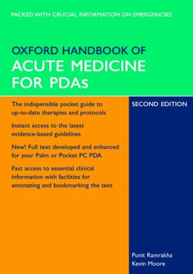Oxford Handbook of Acute Medicine for PDA 9780199205844