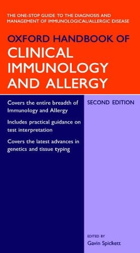 Oxford Handbook of Clinical Immunology and Allergy 9780198528661