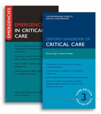 Oxford Handbook of Critical Care [With Emergencies in Critical Care] 9780199576135