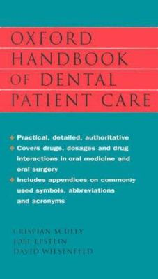 Oxford Handbook of Dental Patient Care 9780192629159
