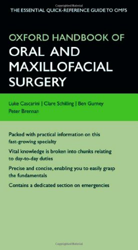 Oxford Handbook of Oral and Maxillofacial Surgery 9780199583294