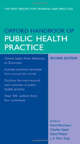 Oxford Handbook of Public Health Practice 9780198566557