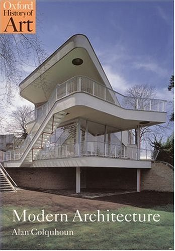 Modern Architecture 9780192842268