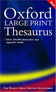 Oxford Large Print Thesaurus 9780198608868